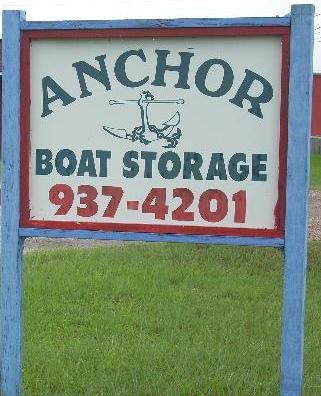 Anchor Boat Storage Home Corpus Christi Flour Bluff Padre Island